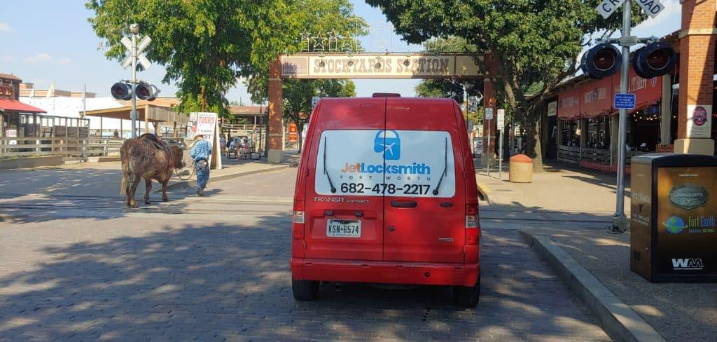jet locksmith vehicle